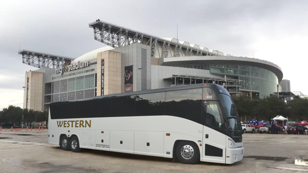 Charter a Bus to your Next Big Game!! | Western Motorcoach
