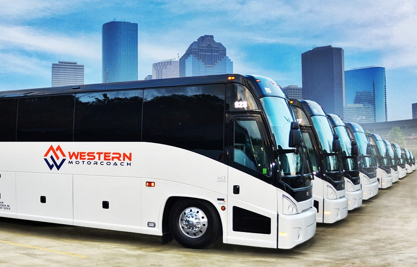 casino bus rental
